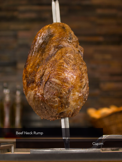 Beef Neck Rump - Touro Steakhouse churrascaria and Rodizio in london