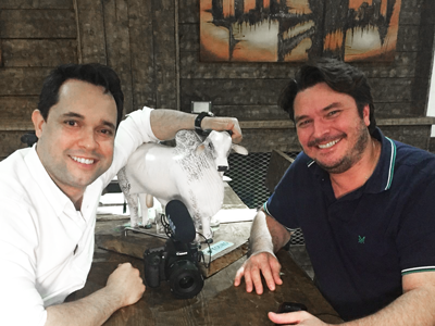 Érico at Touro Brazlian Steakhouse in London and Brigthon