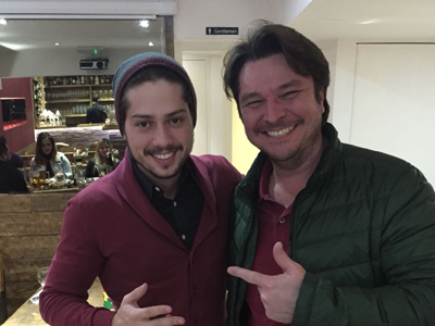 Bruno Sales at Touro Brazlian Steakhouse in London and Brigthon
