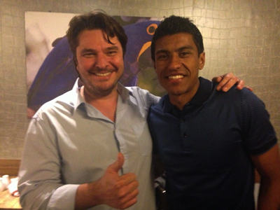 Paulinho at Touro Brazlian Steakhouse in London and Brigthon
