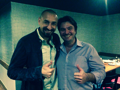 Gomes at Touro Brazlian Steakhouse in London and Brigthon