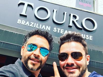 Rodrigo e Rafael at Touro Brazlian Steakhouse in London and Brigthon